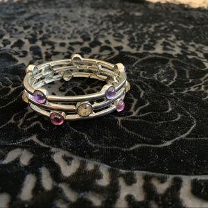 Lia Sophia stretch bangle bracelet